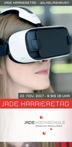 Karriere machen - Jade Karrieretag 2017