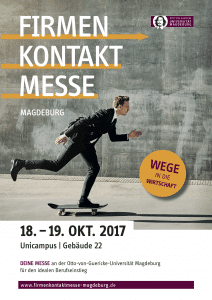 Poster Firmenkontaktmesse Magdeburg