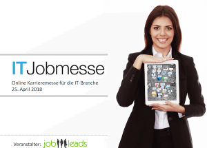 Virtuelle IT Jobmesse