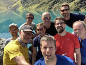 cimt Wanderung in den Alpen