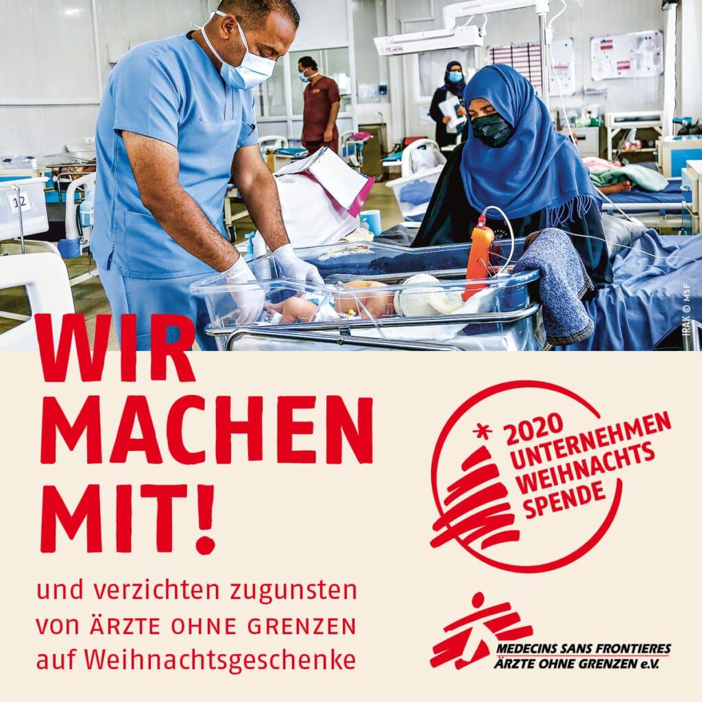 Ärzte ohne Grenzen - Spndenaktion 2020